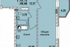 1комн-49.46